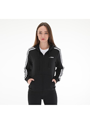 adidas Sweatshirt DP2412-K adidas W E 3S Fz Hd Fl Kadin Ce